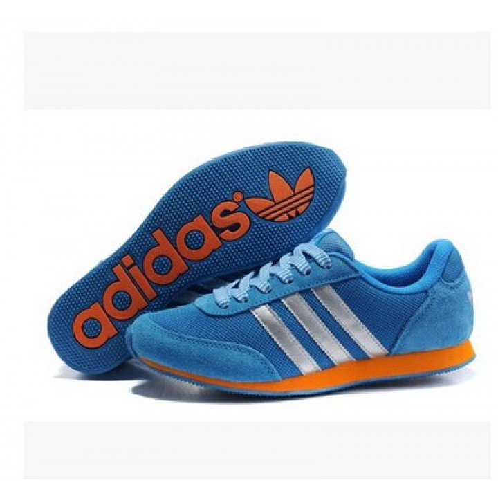 Кроссовки Adidas Lady Runner, blu/orange